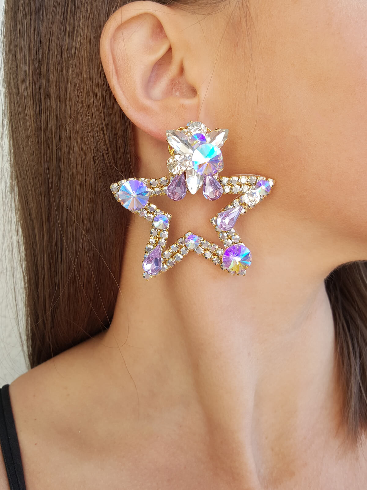 Crystal Earrings 578 1