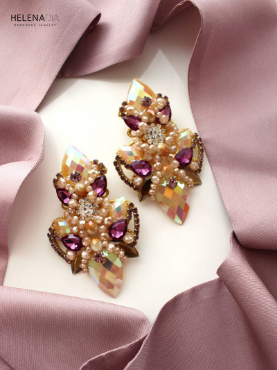 Crystal Earrings 229