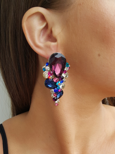 Crystal Earrings 257