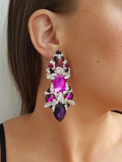 Crystal Earrings 259