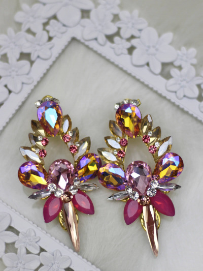 Crystal Earrings 352