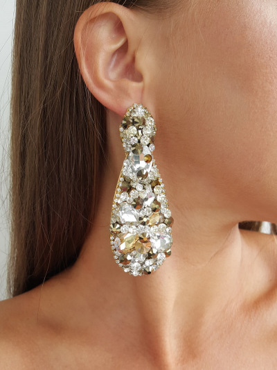 Crystal Earrings 367