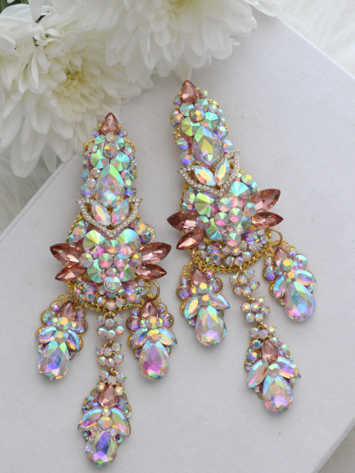 Crystal Earrings 377