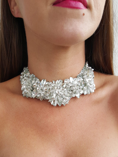 Crystal Necklace 056