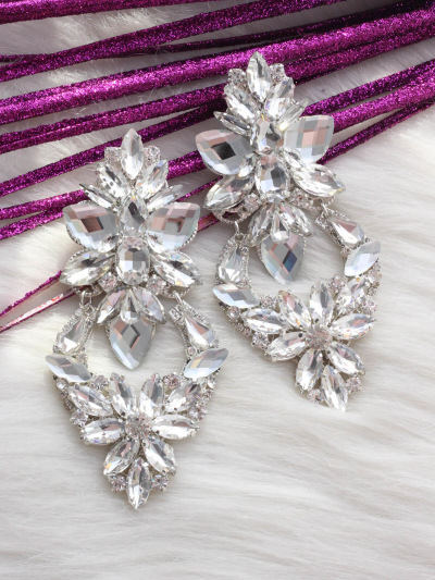 Crystal Earrings 395