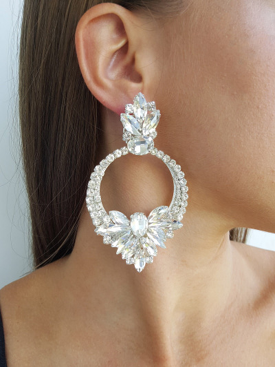 Crystal Earrings 399