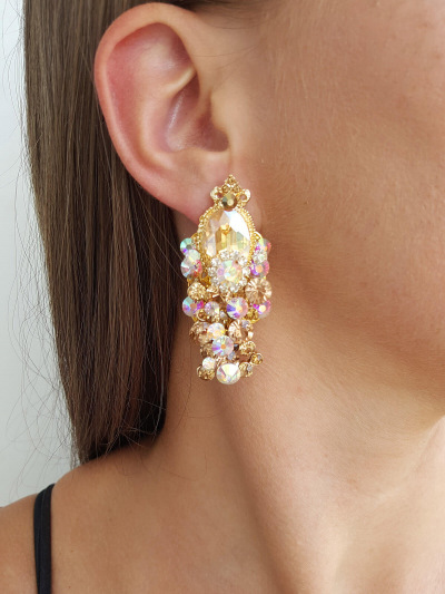 Crystal Earrings 401