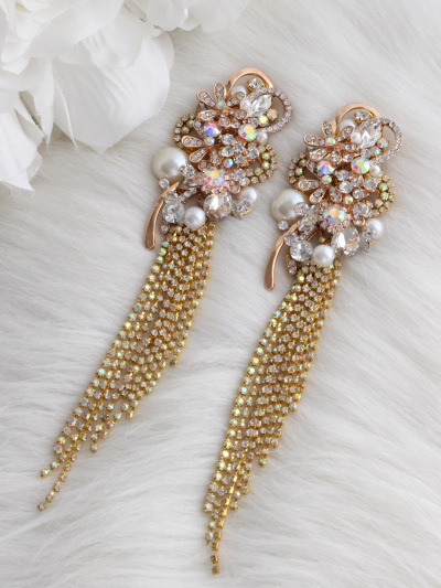 Crystal Earrings 409
