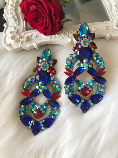 Crystal Earrings 433