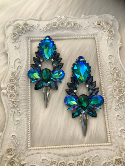 Crystal Earrings 493