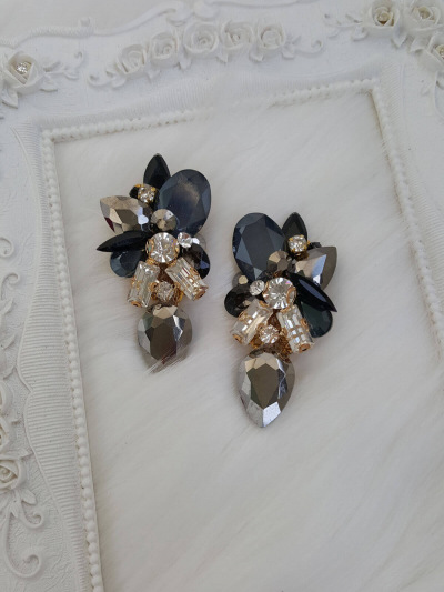 Crystal Earrings 505