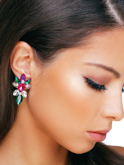 Crystal Earrings 564