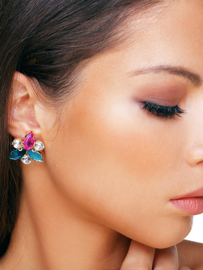 Crystal Earrings 566