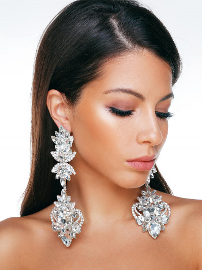 Crystal Earrings 568