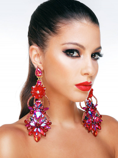 Crystal Earrings 571