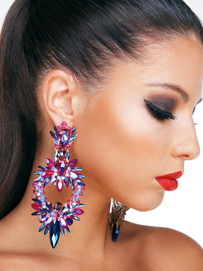 Crystal Earrings 572