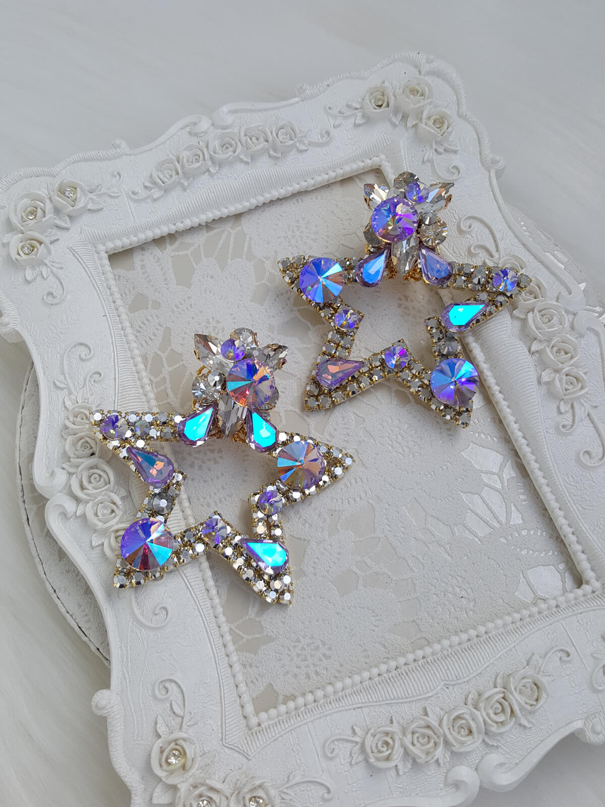 Crystal Earrings 578