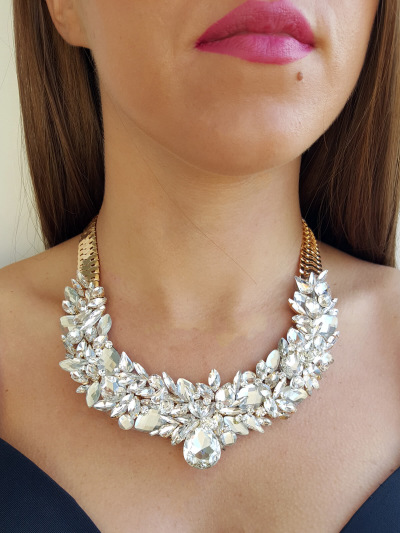 Crystal Necklace 066