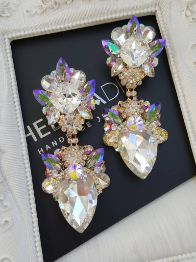 Crystal Earrings 586
