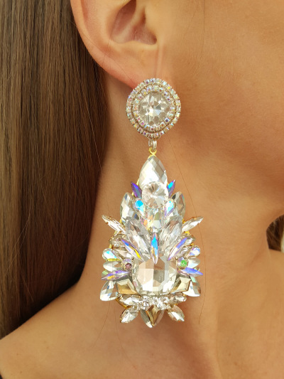 Crystal Earrings 593