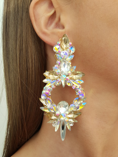 Crystal Earrings 599