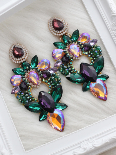 Crystal Earrings 631