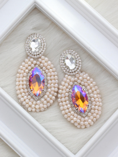 Crystal Earrings 659
