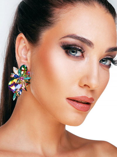 Crystal Earrings 683a
