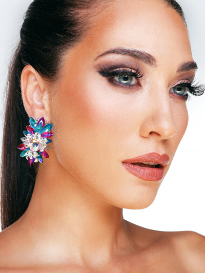 Crystal Earrings 685a