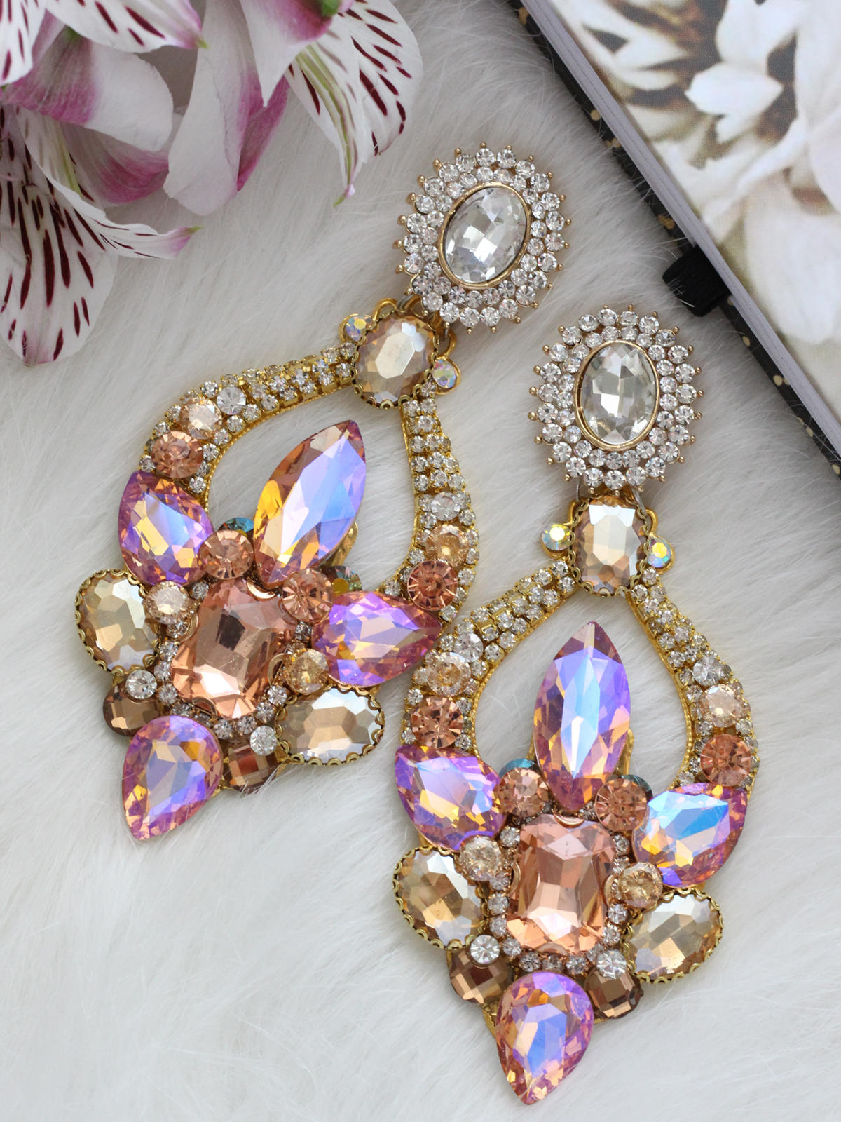 Crystal Earrings 297