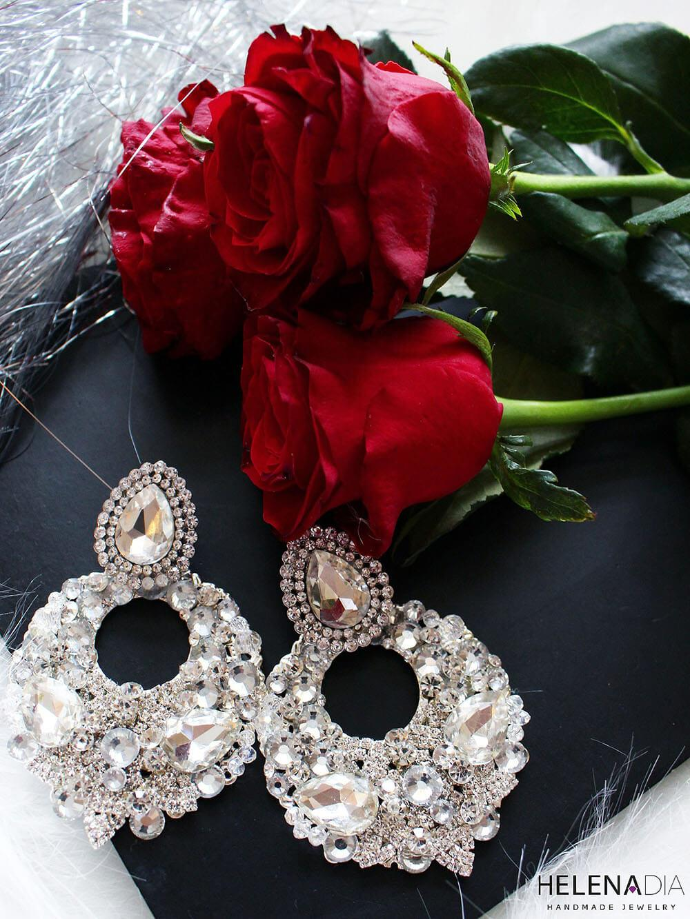 Crystal Earrings 212
