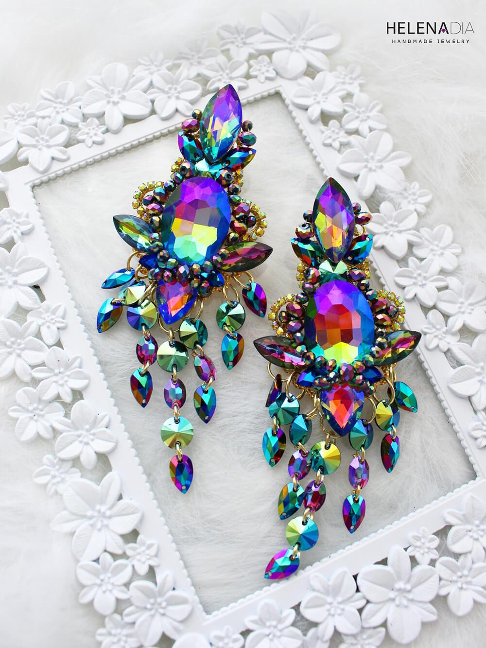 Crystal Earrings 228