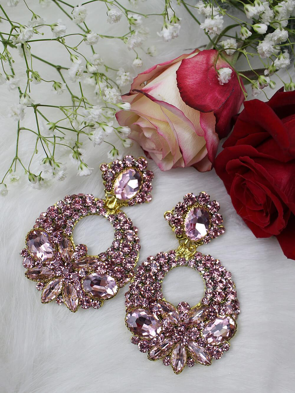 Crystal Earrings 245