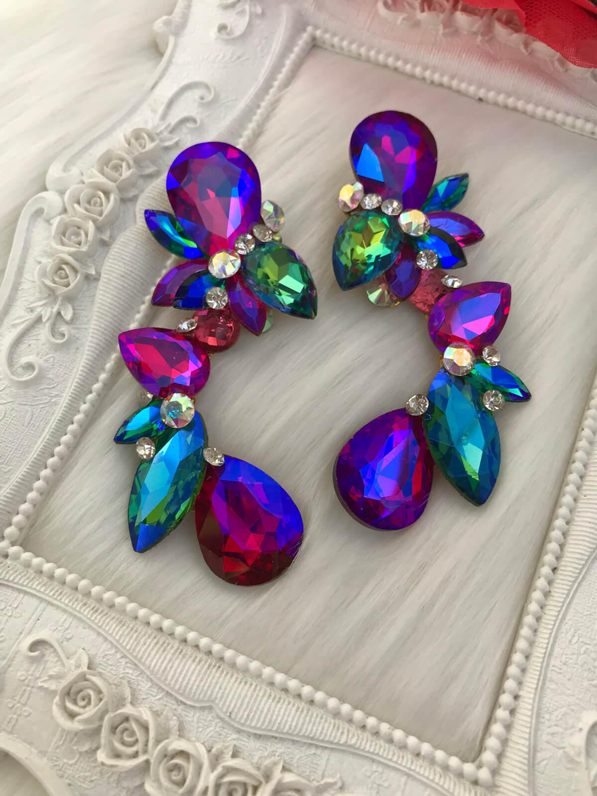 Crystal Earrings 469